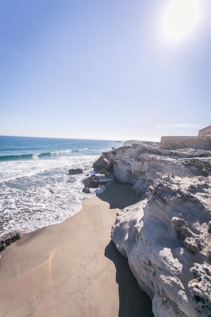 Strand in Cabo de Gata Los Escullos