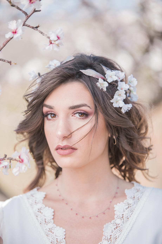 Hochzeit in Andalusien, Braut