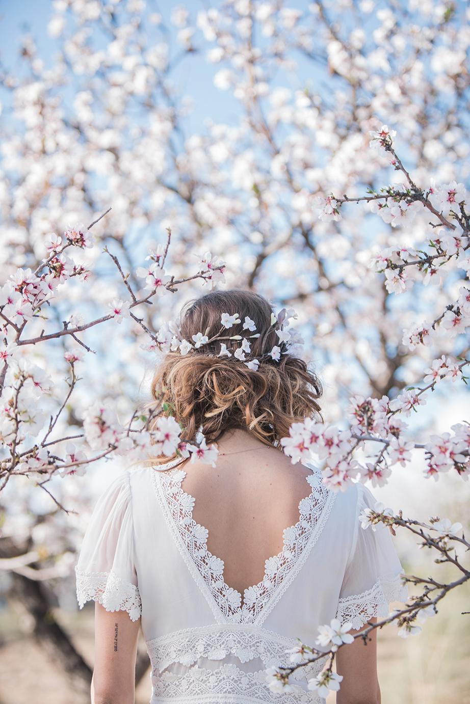 Hochzeit in Andalusien, Brautkleid rückenfrei
