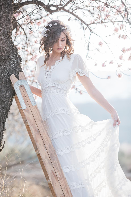 Hochzeit in Andalusien, Brautkleid