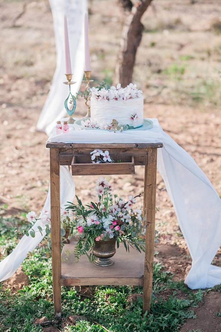 Hochzeit in Andalusien, Hochzeitstorte