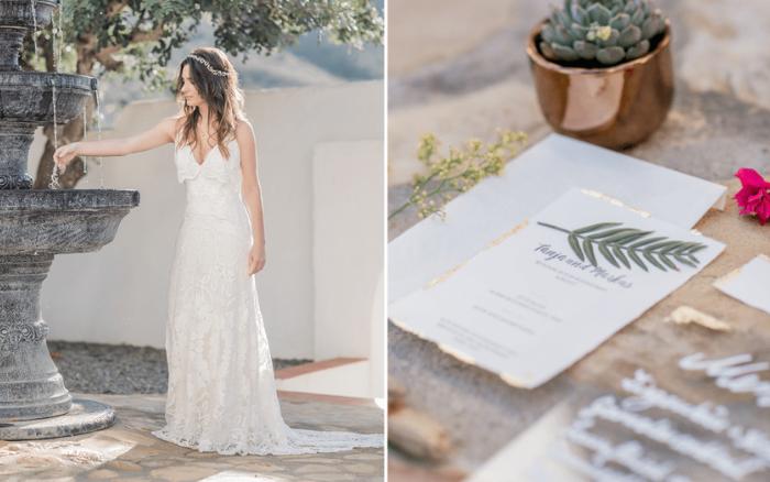 """Hochzeitsinspiration """"Mediterrane Träume"""""""