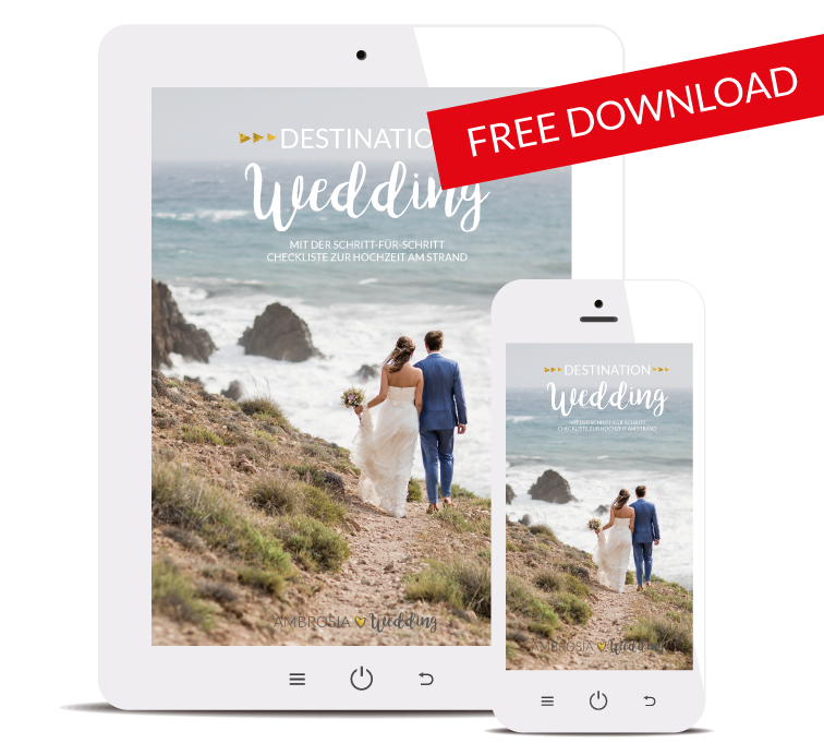 Freebie Checkliste Hochzeit am Strand download