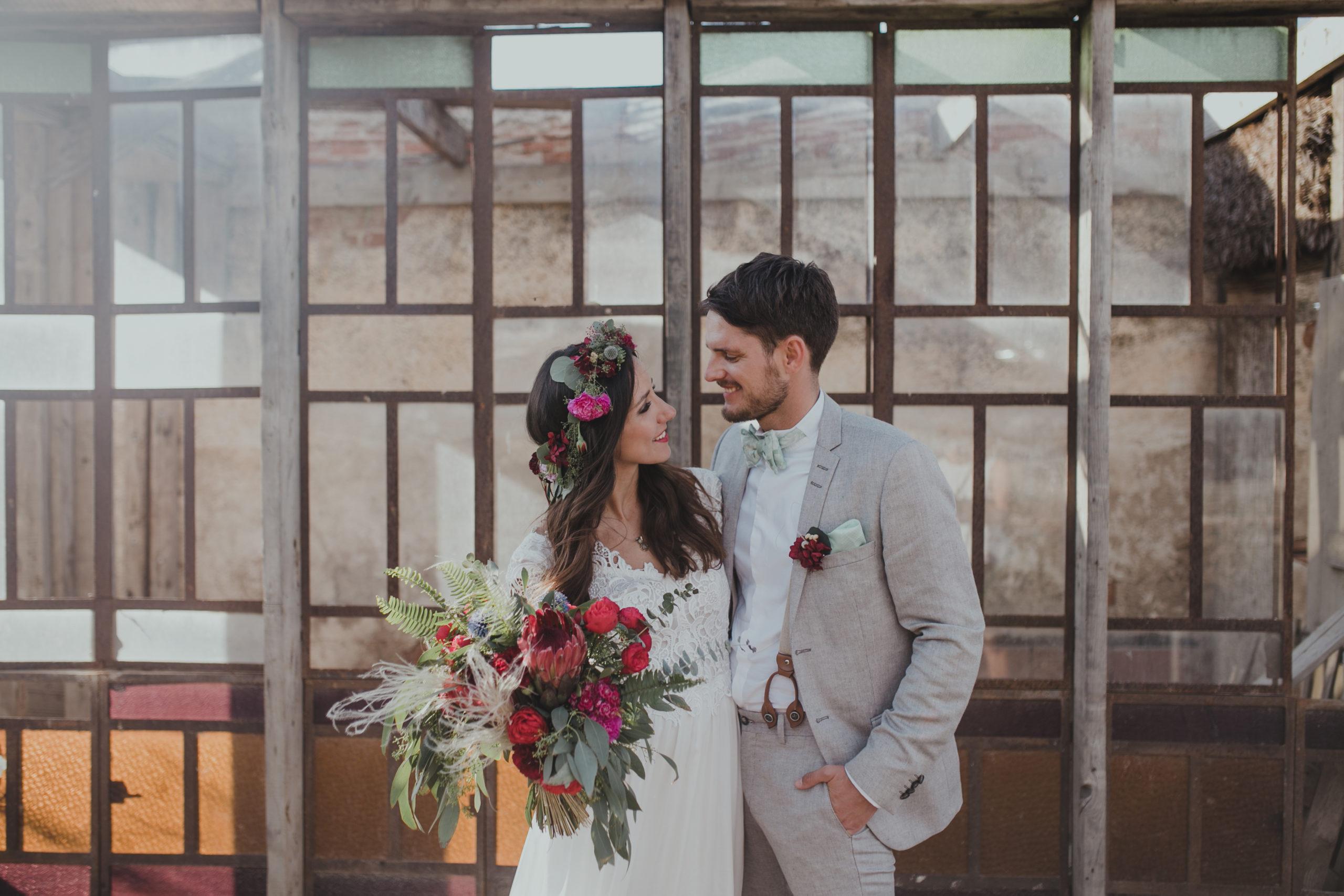 Boho Hochzeit – Festivalwedding von Pia & Georg