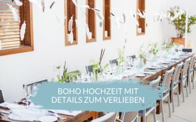 Boho Hochzeit in Spanien mit Details zum verlieben
