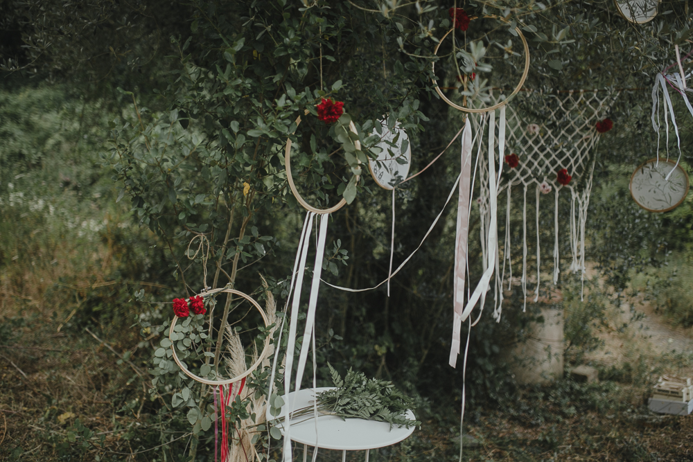 Festival boho Hochzeit, Boho Wedding Freie Trauung Hippie Traumfänger