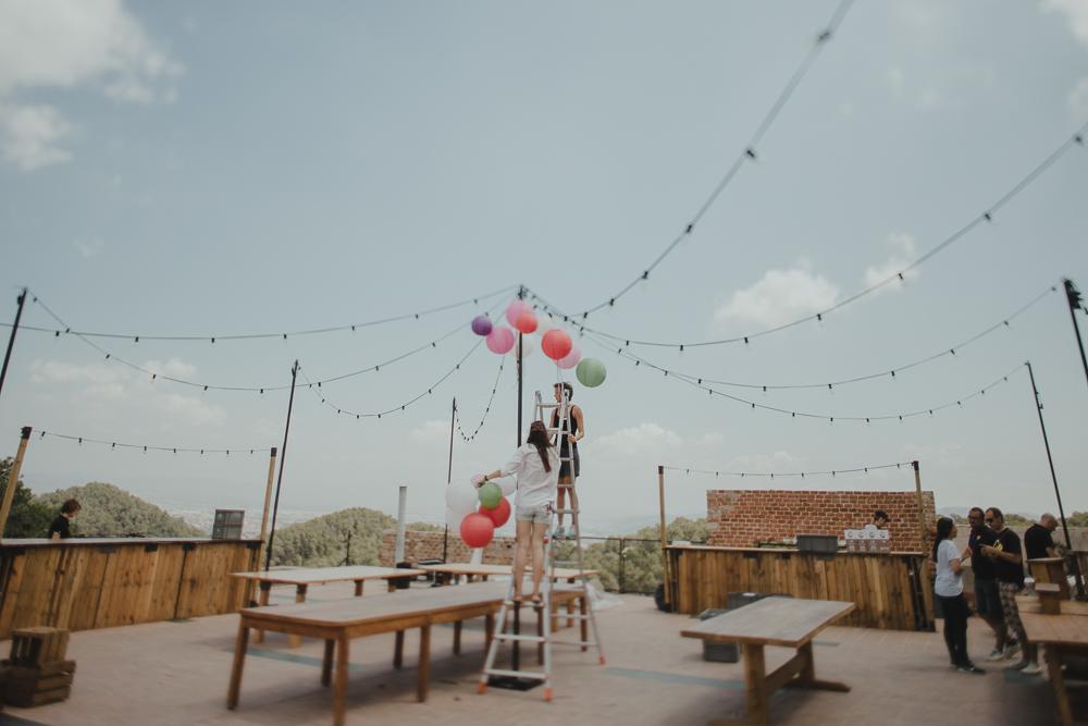 Festival boho Hochzeit, Boho Wedding Location Dekoration mit Lampions