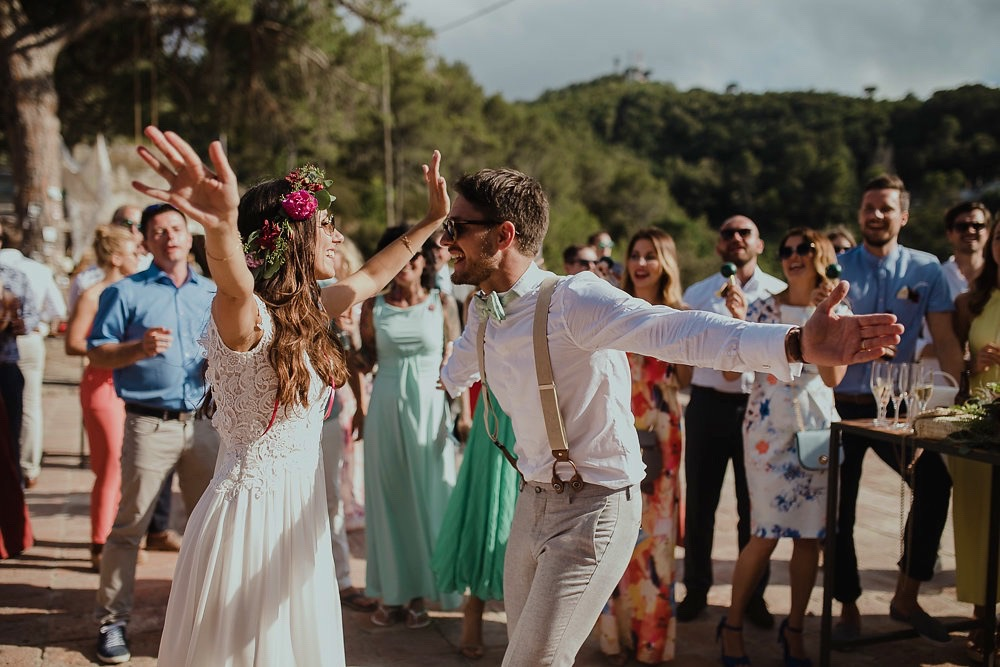 Festival boho Hochzeit, Boho Wedding Boho Brautpaar