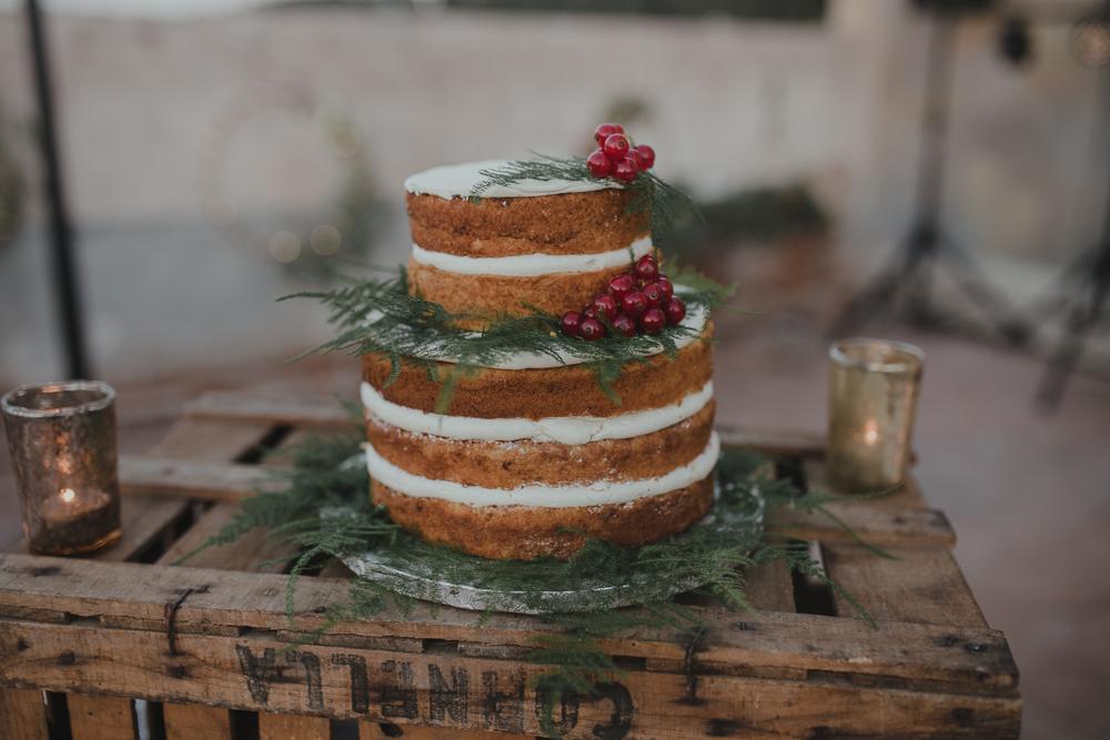 Festival boho Hochzeit, Boho Wedding Hochzeitstorte naked cake