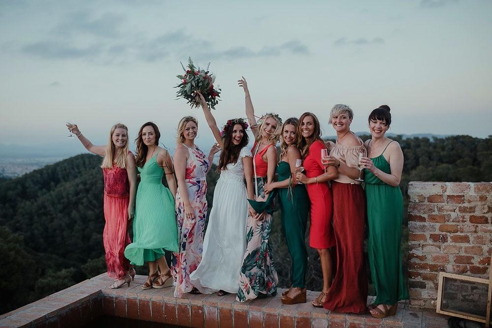 Festival boho Hochzeit, Boho Wedding Bridemaids