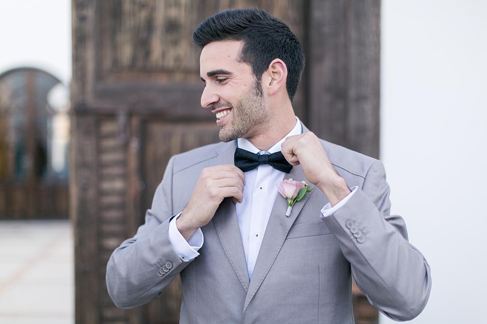 Hochzeit in Spanien, Bräutigam Styling