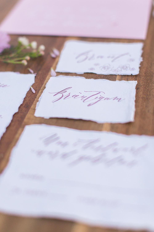 Hochzeit in Spanien, Kalligraphy Hochzeitskarten, Fineart Calligraphy wedding stationary