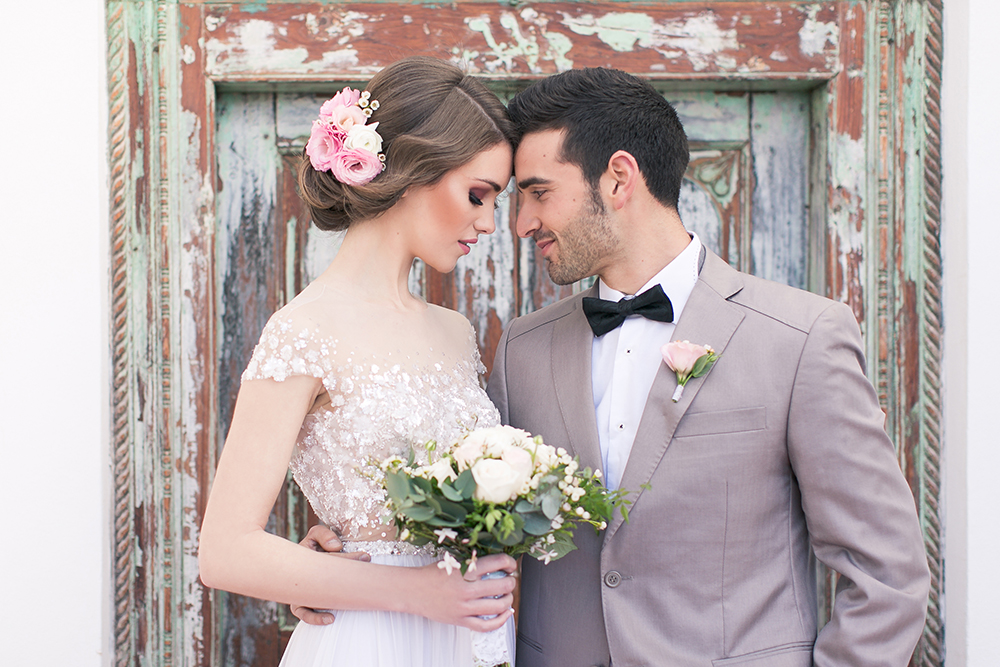 Hochzeit in Spanien, Brautpaarshooting in Andalusien. Styled Shoot mit Violeta Pelivan und Ambrosia Wedding