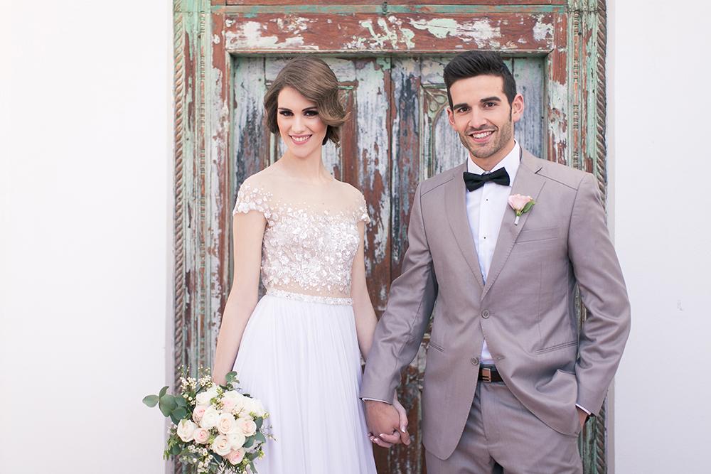 Hochzeit in Spanien, Brautpaarshooting in Andalusien, Heiraten am Strand mit Ambrosia Wedding