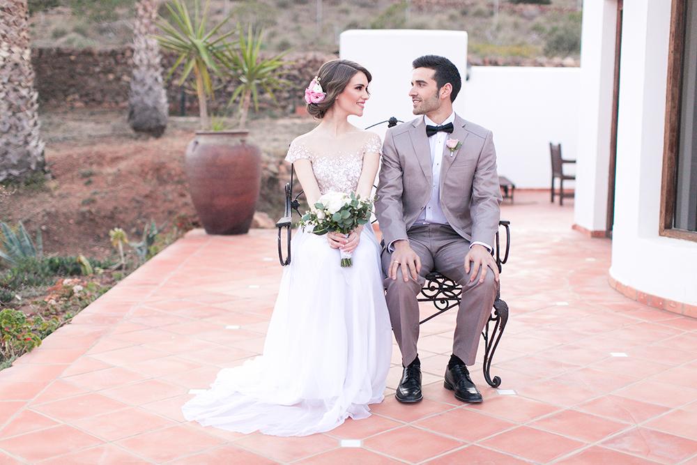 Hochzeit in Spanien, Brautpaar Shooting, Fineartfoto