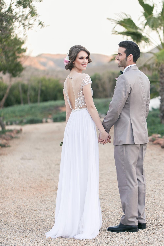 Hochzeit in Spanien in einer andalusischen Finca