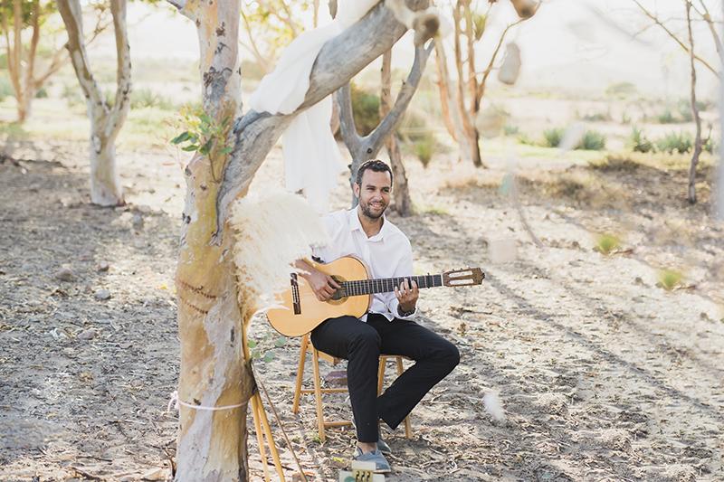 Musik für die freie Trauung. Strandhochzeit, Elopment in Spanien