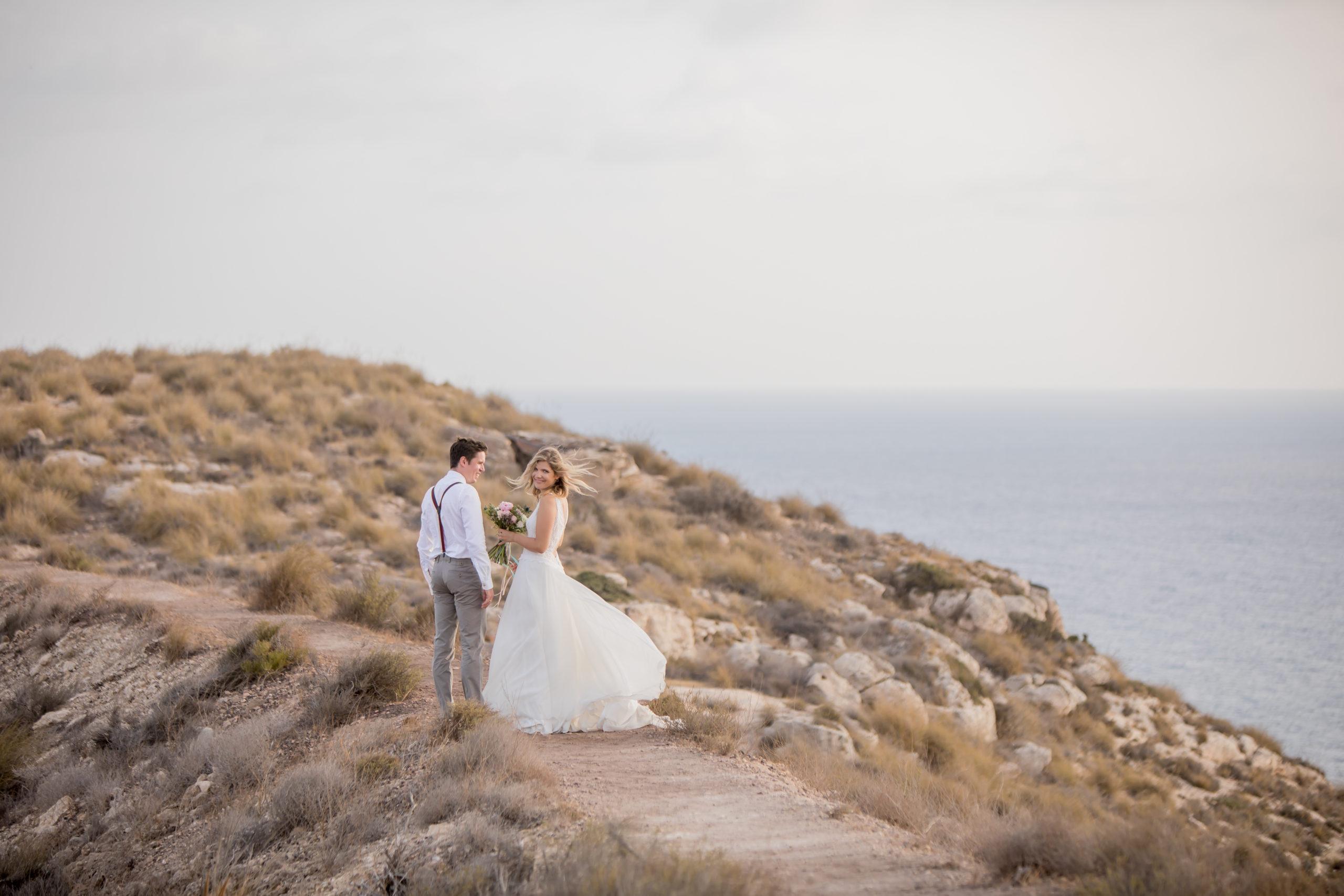 Festival Wedding in Spanien mit einem Esel als Gast – Kathi & Andi