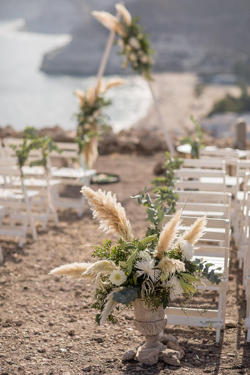 Festival Wedding in Spanien