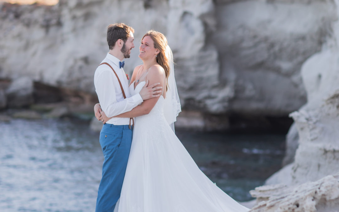 Mediterrane Hochzeit in Spanien – Real Wedding Mirjam & Roy