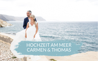 Greenery Wedding – Heiraten am Meer mit Carmen & Thomas