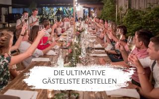 Die ultimative Methode, um eine Gästeliste zu erstellen