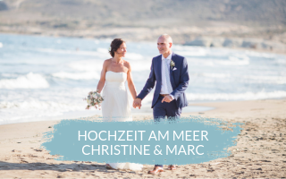 Hochzeit am Meer – Real Wedding Christine & Marc
