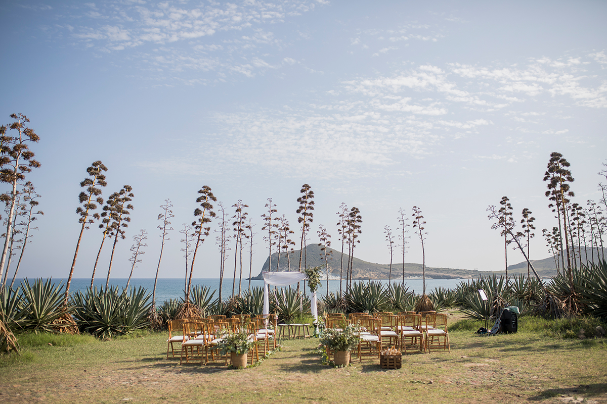 Hochzeit am Meer, freie Trauung