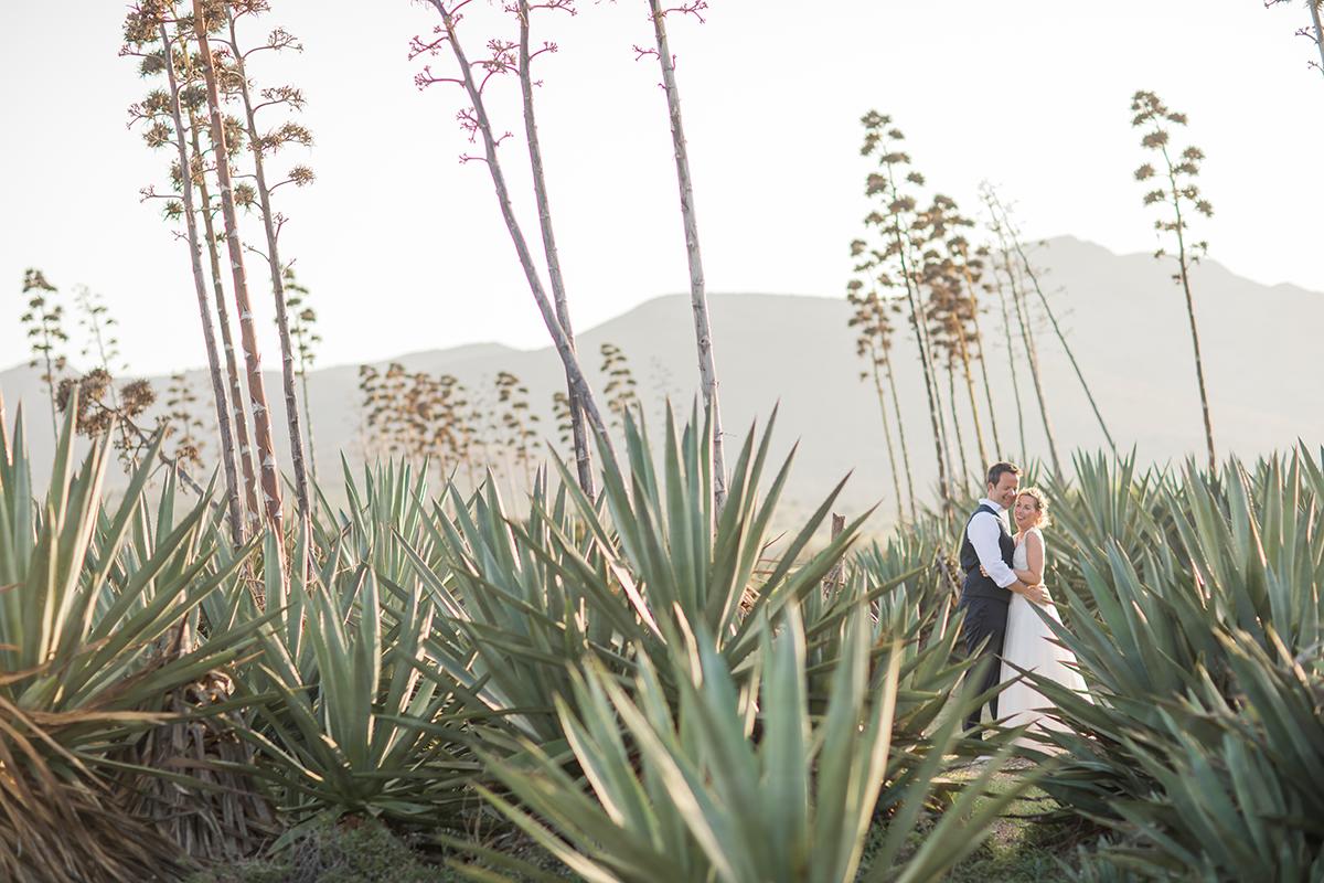 Brautpaar Wüste