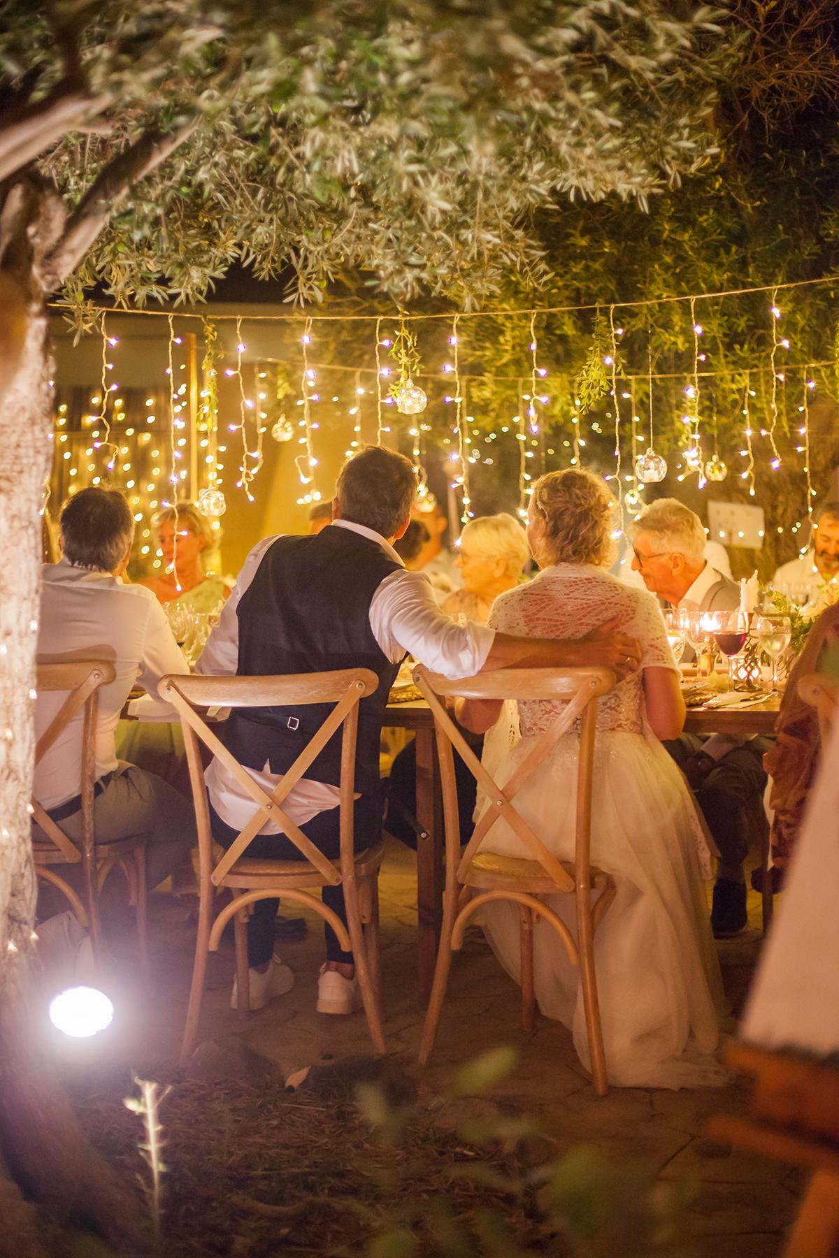 Hochzeitsfeier Brautpaar
