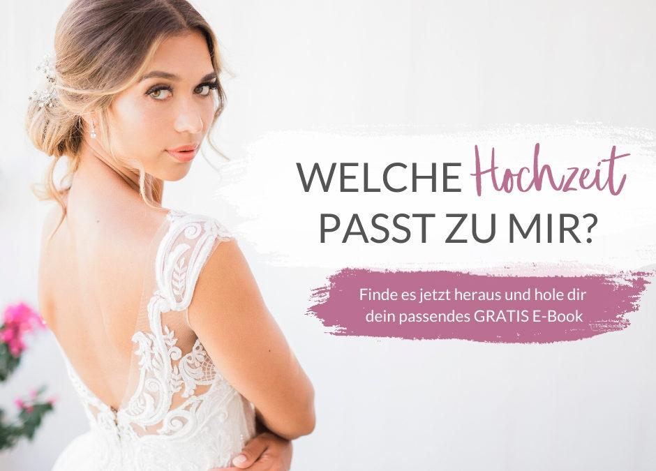 Welche Hochzeit passt zu mir?