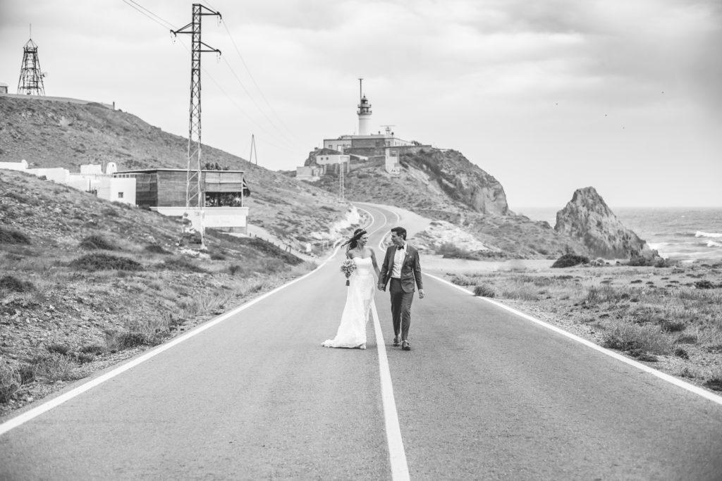 Romantische Hochzeit am Meer